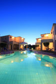 Luxurious villas resort — Stockfoto