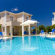 Exterior of a luxurious villa — Stock Photo