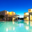 Exterior of a Greek resort — Stock Photo #15849803