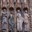 Cathedral of Strasbourg in Alsace — Stockfoto