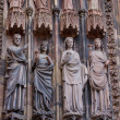 Cathedral of Strasbourg in Alsace — Stock fotografie