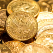 Five Dollars gold coins — Stock Photo #17994493