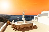 Santorini řecké islad — Stock fotografie