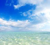 Portokali beach in Halkidiki — Stock Photo