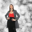 Young business woman — Stock Photo #18501317