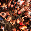The famous Zante foam party — Stock Photo