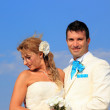 Bride and groom — Stock Photo #18553761