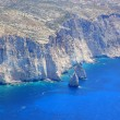 Stock Photo: Aerial view on Zakynthos Greece