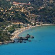 Aerial view on Zakynthos Greece — Stock Photo