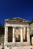 Sanctuary of Athena Pronaia of oracle delphic — Stock Photo