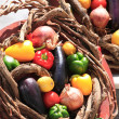 A basket of vegetables — Stock Photo #18647983
