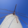 Windmill on Santorini island - Foto de Stock
