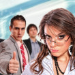Portrait of a business team — Stock Photo