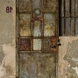 Royalty-Free Stock Photo: Old door and window