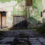 eski kapı ve pencere — Stok fotoğraf #18736469