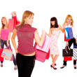 Small group shopping girl — Stock Photo #18738019