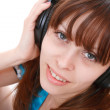 Royalty-Free Stock Photo: Listening to Music