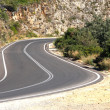 Stock Photo: Road in cretmountains