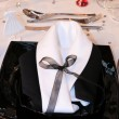 Table set for a wedding — Stock Photo #18868961