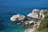 été sur la plage en grèce — Photo