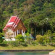 Budhist temple in Phuket - Stock Photo