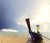 Boat in Phuket Thailand — Stock Photo