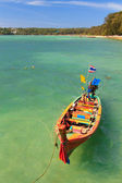 Barco en phuket tailandia — Foto de Stock