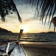 Stock Photo: Holidays paradise beach