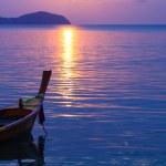 Beautiful sunrise in Rawai Phuket — Stock Photo #19911223