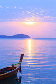 Beautiful sunrise in Rawai Phuket — Stock Photo