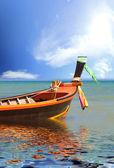 Båt i phuket thailand — Stockfoto
