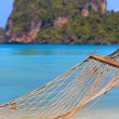 Stock Photo: Hammock on Phi Phi beach