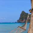 Hammock on Phi Phi beach — Foto de Stock