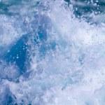Motor boat engine — Stock Photo