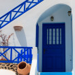 View on Oia in Santorini — Stock Photo
