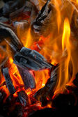 Blaze fire flame — Stock Photo