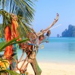 Stock Photo: Beach of Phi Phi island