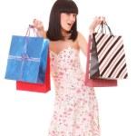 Shopping pretty woman — Stock Photo #2351412