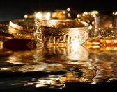 Bijoux et pièces d'or — Photo