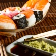 Yummy Fresh Sushi rolls — Stock Photo #23861665
