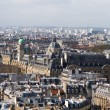 Aerial view of Paris roofs — Stock Photo