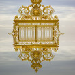 Golden gate Versailles — Stock Photo