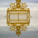 Golden gate Versailles — Stock Photo