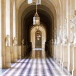 Interior hallway at the Palace of Versailles - Foto Stock