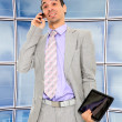 Business man at corporate — Stock Photo