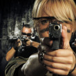 Special tactics team ready for action — Stock Photo