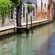Streets of the italian city of Venice - Stock Photo