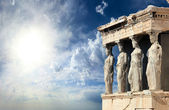 Parthenon in Acropolis — Stock Photo