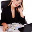 Young attractive business woman — Stock Photo #25447727