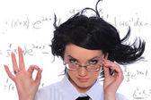 Matematiklärare — Stockfoto